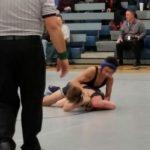 Varsity Wrestling beat Lee's Summit North High School 44-32