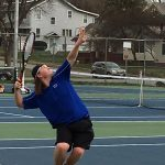 Boys Varsity Tennis beat Saint Joseph Central High School 7-2