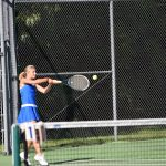 Blue Springs South Girls Varsity Tennis beat Blue Springs 6-3