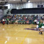Blue Springs South Girls Varsity Volleyball beat Blue Springs 2-1