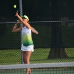 Blue Springs South High School Girls Varsity Tennis beat Staley High School 8-1