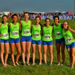 Blue Springs South Girls Varsity Cross Country finishes 2nd place