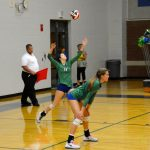 Blue Springs South Girls Varsity Volleyball beat Park Hill 2-0