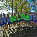 Blue Springs South Girls Varsity Cross Country finishes 1st place