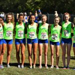 Blue Springs South High School Girls Varsity Cross Country finishes 7th place