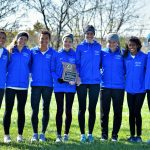 Blue Springs South High School Girls Varsity Cross Country finishes 2nd place