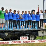 Blue Springs South High School Girls Varsity Cross Country finishes 4th place
