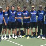 Boys Varsity Tennis finishes 1st place at Tournament @ Santa Fe Park
