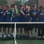 Boys Varsity Tennis beats Lee's Summit 5 – 3
