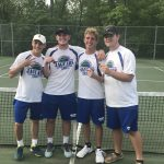 Boys Varsity Tennis finishes 1st place at MSHSAA Individual Districts