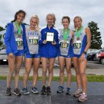 Jaguar Girls Varsity Cross Country takes 2nd place at Forest Park