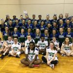 BSS Cheer volunteers and cheers at Special Olympics Tournament