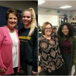 Seniors Ashley Cole and Rylie Gregston named Students of the Month