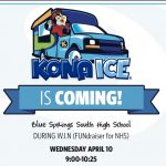 Get Kona Ice in the Commons during WIN to support NHS, prices and info included