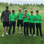 Boys Golf Finishes 2nd at Class 4 District Tournament