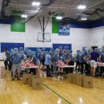 National Honors Sociey packs 7,300 meals at annual Something to Eat event