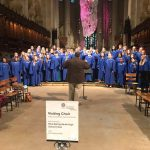 Acapella Choir performed at the St John the Divine Cathedral in New York