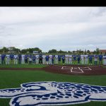 Varsity Baseball Players chose teachers to honor during Teacher Appreciation Game