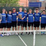 Varsity Tennis wins District Championship