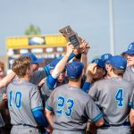 Varsity Baseball wins District Championship