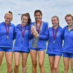 Girls XC Win Solsberg Invitational