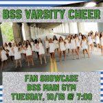 Varsity Cheer Fan Showcase