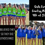 Girls Cross Country Brings Home a State Trophy