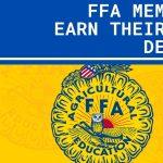 Congrats FFA Members!