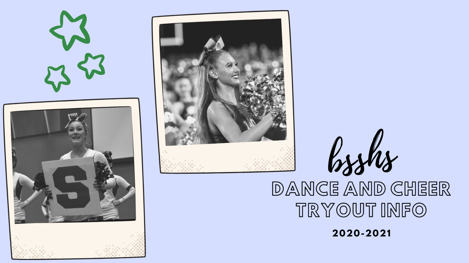 Touch of Silver and Cheer Tryouts