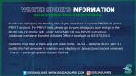 Winter Sports Information