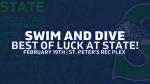 State Girls Swim and Dive!