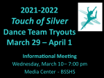 Touch of Silver Tryouts — NEW MEETING DATE