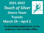 Touch of Silver Dance Team Tryouts