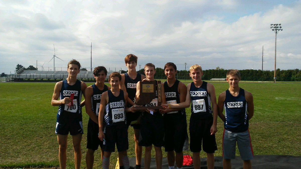 Boys XC Sectional Champs – Girls Finish 3rd