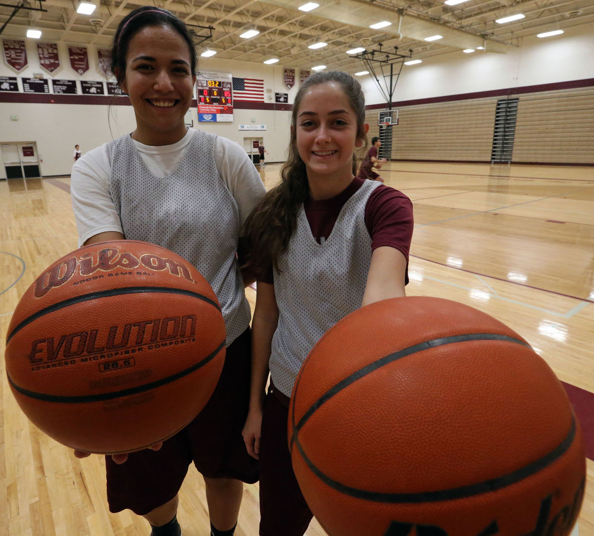 Anita Ramos and Lexi Newton step up for Bulldogs