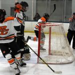 Byron Center High School Boys Varsity Hockey beat West Catholic High School 1-0