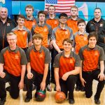 Byron Center High School Coed Varsity Bowling beat Wayland High School 24-6