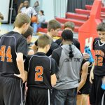 Byron Center High School Boys Freshman Basketball beat Holland Public Schools 45-34