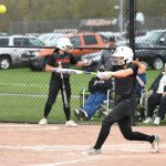Byron Center High School Varsity Softball beat Portage Central High School 4-2