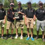 Byron Center High School Boys Junior Varsity Golf finishes 2nd place