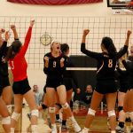 Byron Center High School Girls Varsity Volleyball beat vs Zeeland West HS 3-0