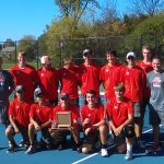 Byron Center High School Boys Varsity Tennis finishes 1st place