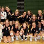Byron Center High School Girls Varsity Volleyball beat Zeeland West High School 3-0