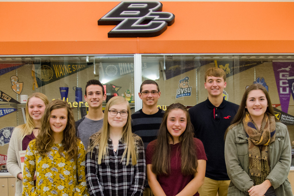 Jet's Pizza in Byron Center Athletes of the Month!
