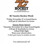 Byron Center Hockey is BACK!