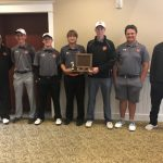 Boys Varsity Golf finishes 1st place at Zeeland East High School (CONFERENCE )