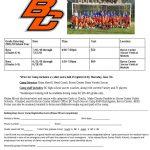 Byron Center Boys Youth Soccer Camp