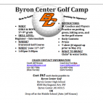 Boys and Girls Golf Camp Information