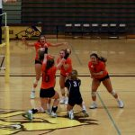 Byron Center Varsity Volleyball Beats Zeeland East in a 5 Set Thriller