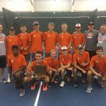 Boys Varsity Tennis finishes 1st place at OK Green Conference Tournament